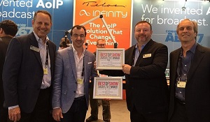 Telos Alliance claims two Best of Show Awards at IBC 2017