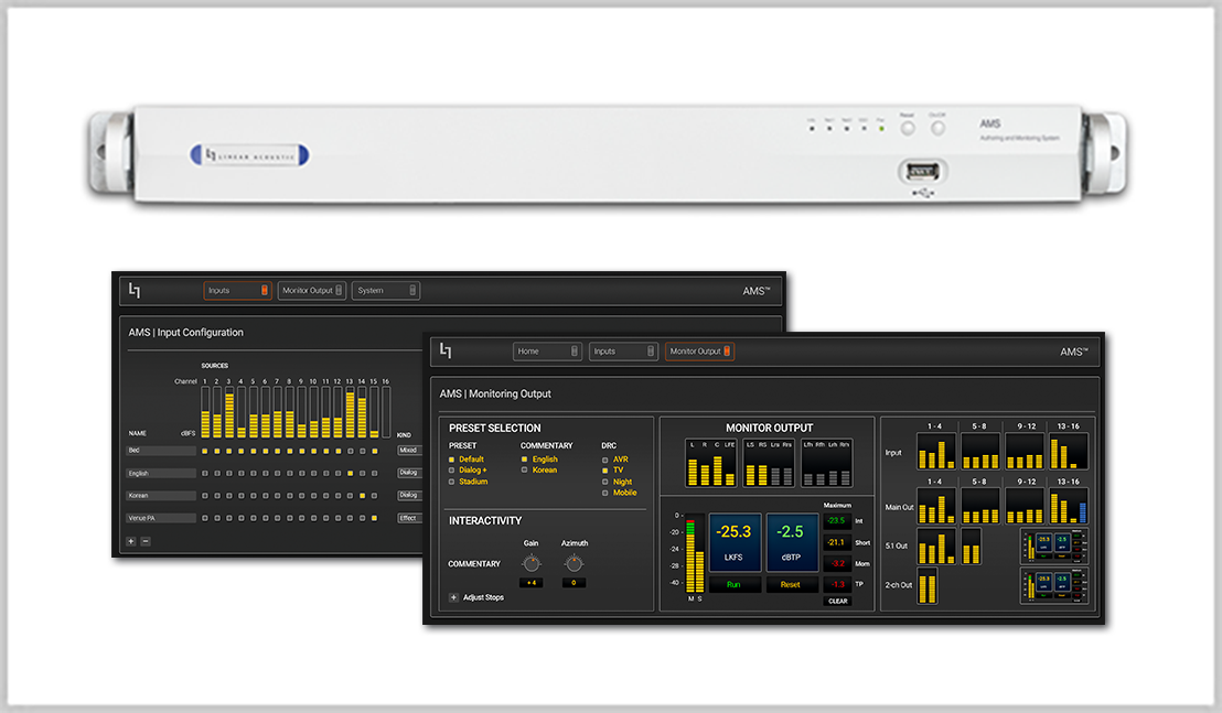 AMS Authoring & Monitoring System
