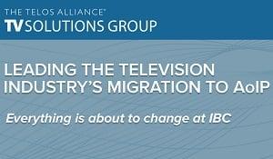TVSG Big News at IBC