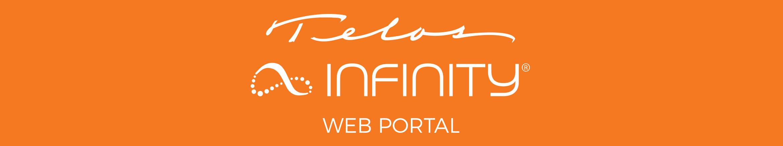 Infinity Web Portal banner