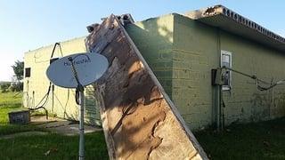 Tornado Damage at KHKC