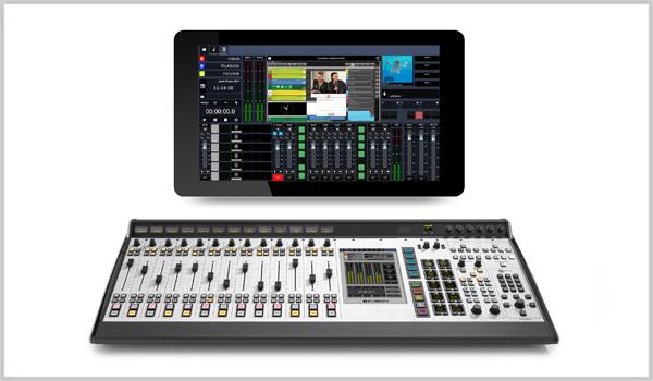 Axia IP-Tablet Virtual Radio Software Fusion Console