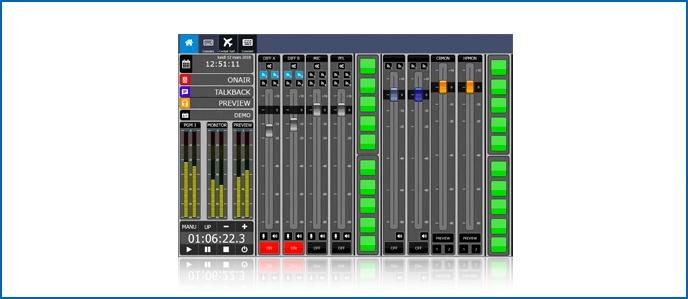 Virtual Radio IP-Tablet