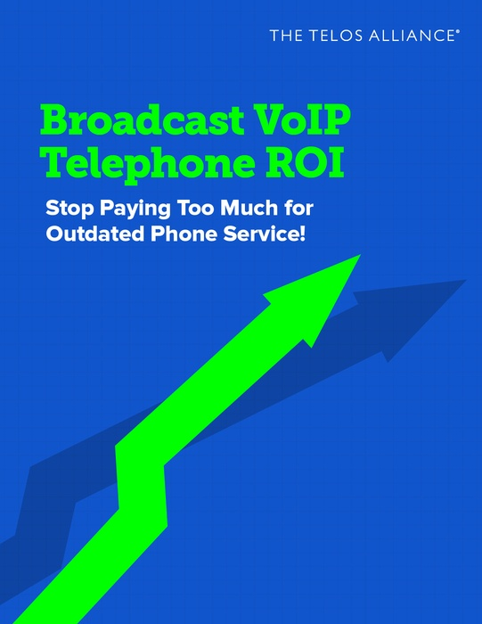 Broadcast VoIP Phone System ROI eBook