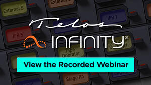 Telos Infinity_Recorded