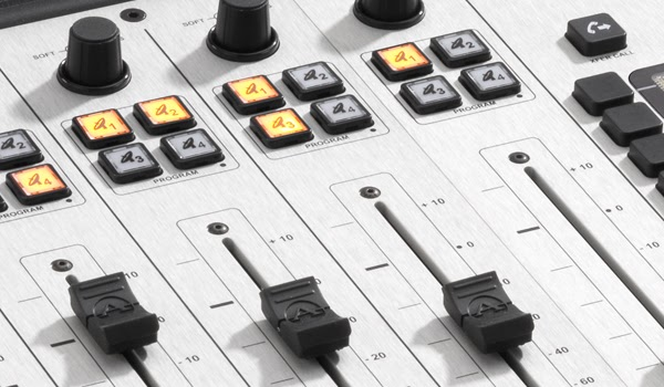 consoles and audio mixing